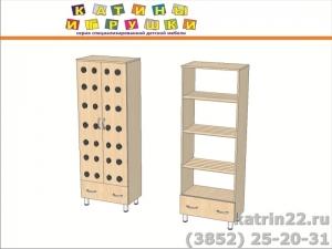 Шкаф «Хлеб 2» с ящиком